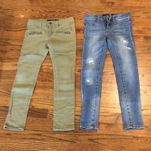 Girls Joes Jeans skinnies